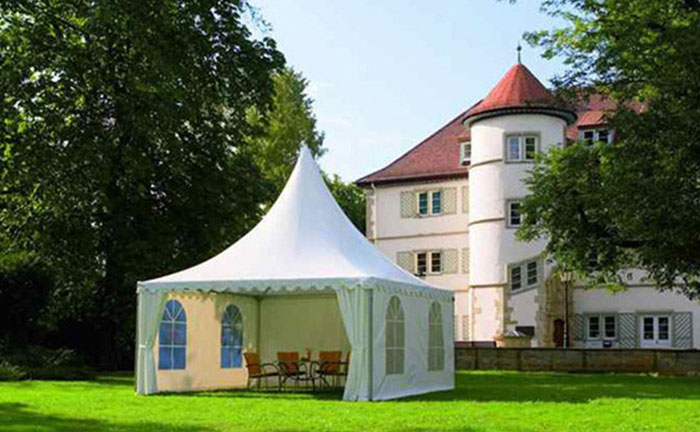 3x3m White Exhibition Outdoor Simple Tent