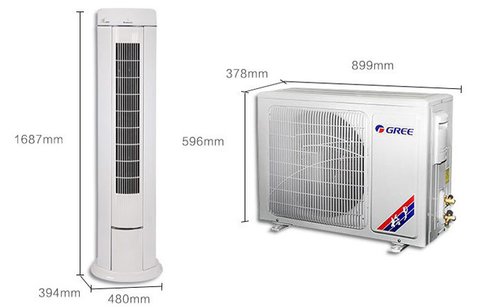 outside party tent Air Conditioner