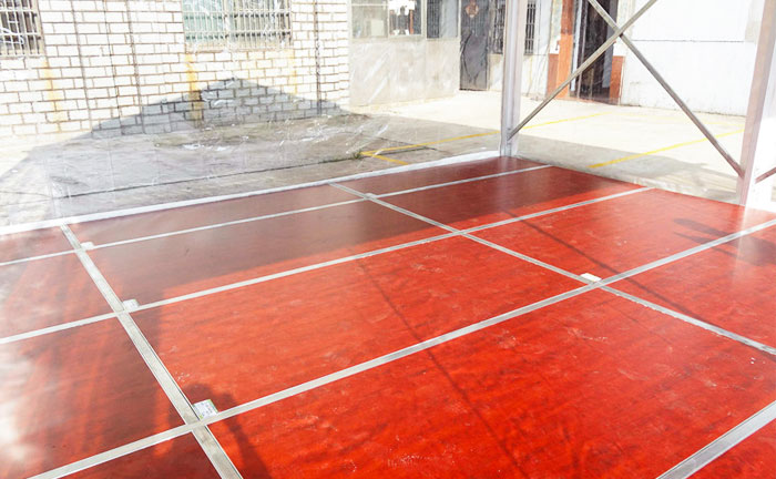 outside party tent Floor System