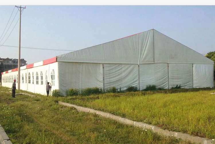Durable Outdoor Rooftop Gable Industrial Warehouse Storage Tent