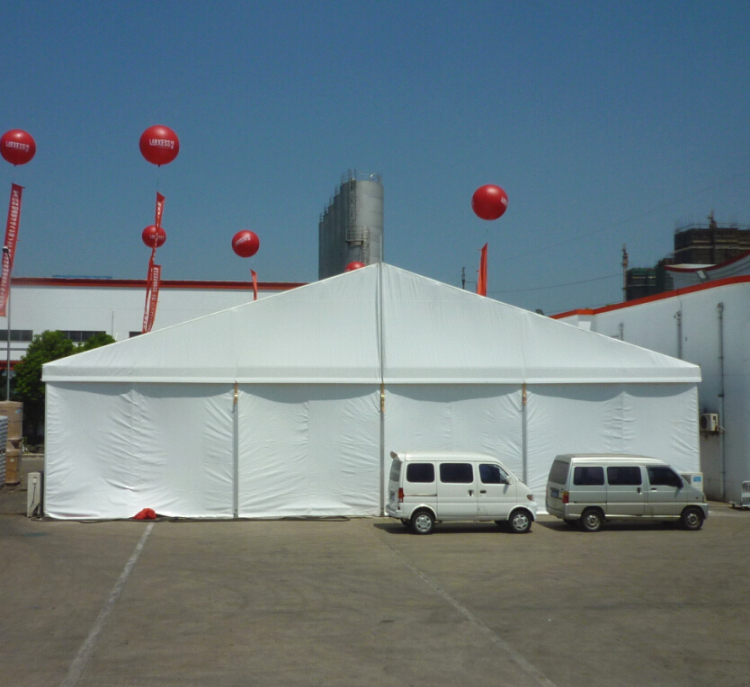 Large Outdoor Industrial Event Storage Tent