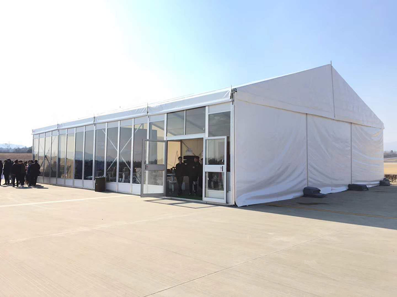 500 People Heavy Duty Marquee Tent